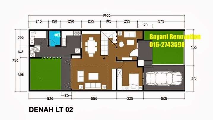 Plan Rumah Semi D