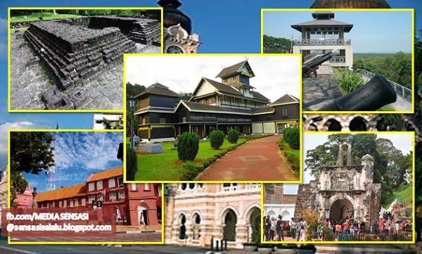 Struktur Beberapa Bangunan Dan Binaan Bersejarah Di Malaysia