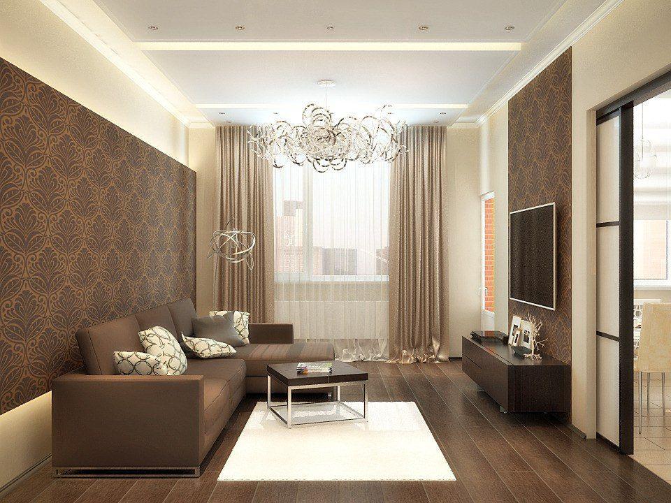 Jangan kekecewaan bilik berikan dekorasi yang tidak lengkap dan kemudian pangsapuri anda akan menerima ruang tamu yang boleh dibanggakan