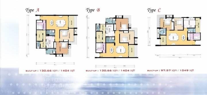 Reka Bentuk Hiasan Dalaman Tingkatan 2 Berguna 1 Residence Kondominium Baru Di Kota Bharu