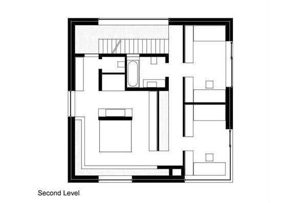 Rekabentuk Pelan Rumah Berguna Rumah Arca Di Munich Dibina Menggunakan Bahan Prefabrikated