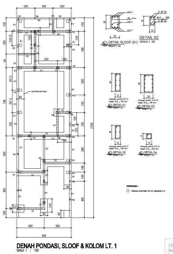Skala Pelan Rumah Menarik Desain Minimalis73 – Laman 3