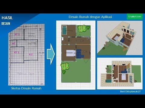 Software Untuk Melukis Pelan Rumah Berguna Tutorial Cara Membuat Desain Rumah Dengan Aplikasi Planner 5 D