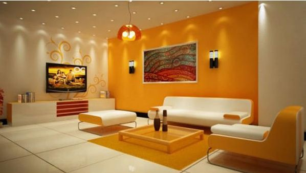 Ruang warna orange