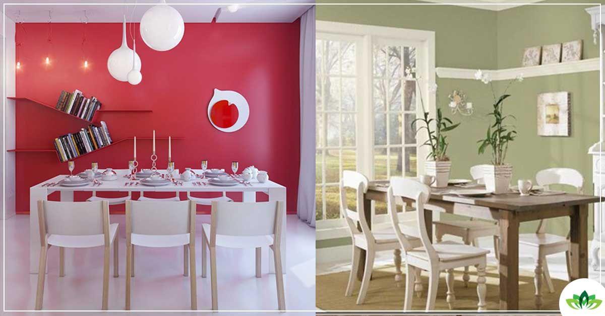 Inspirasi warna dinding ruang makan