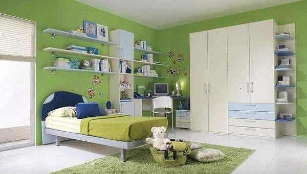 60 Desain Kamar Tidur Warna Hijau Minimalis Modern Simpel dan Cerah