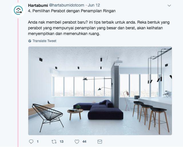 Bila dah tau cara yang betul untuk deko flat atau apartment barulah kelihatan lebih luas kan
