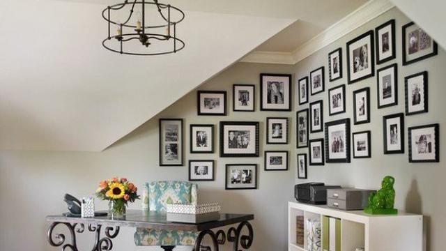 Percantik Ruangan dengan Gallery Foto di Dinding Rumah