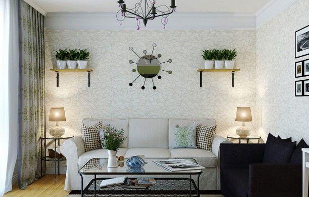 Selanjutnya yang harus diperhatikan untuk desain interior ruang tamu minimalis yaitu dengan menambahkan beberapa hiasan diruang tamu seperti pajangan foto