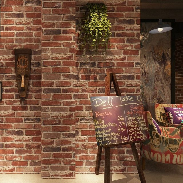 Dekorasi Hiasan Dalaman Terbaik Rumah Flat Bermanfaat Huda Sticker Wallpaper Dinding 3d Diy Model Bata 54cm X 10m