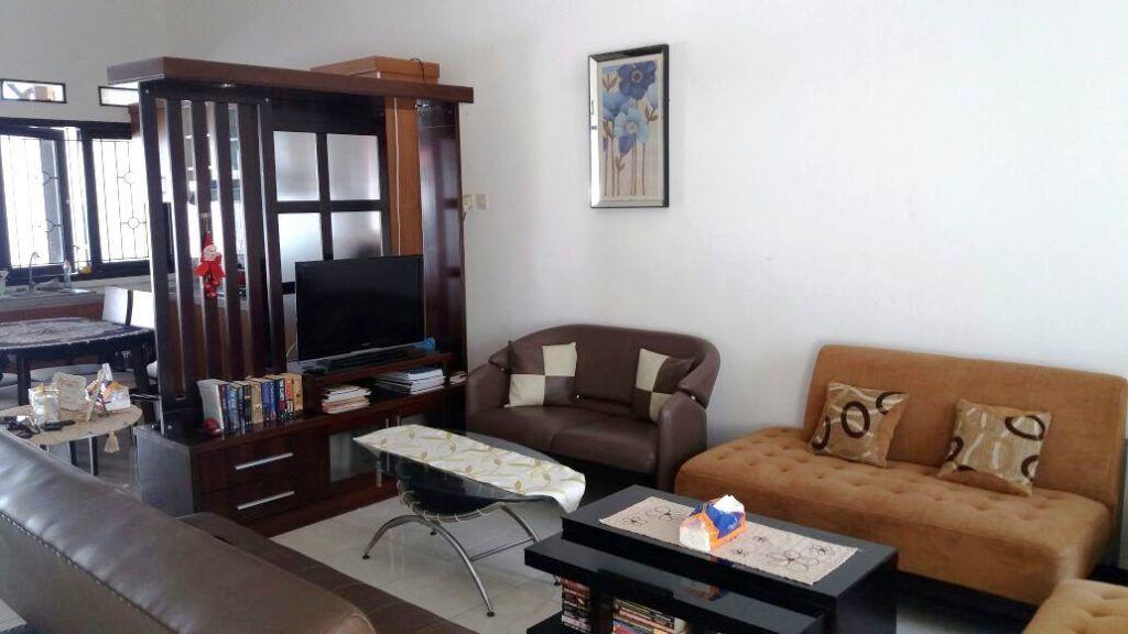 Dekorasi Hiasan Dalaman Terbaik Rumah Teres Kos Rendah Bermanfaat Ruang Tamu Flat