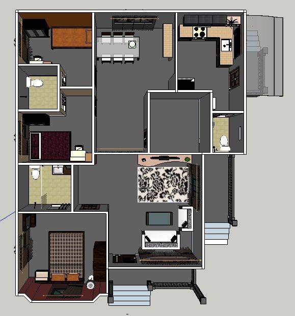 Reka Bentuk Dalaman Rumah
