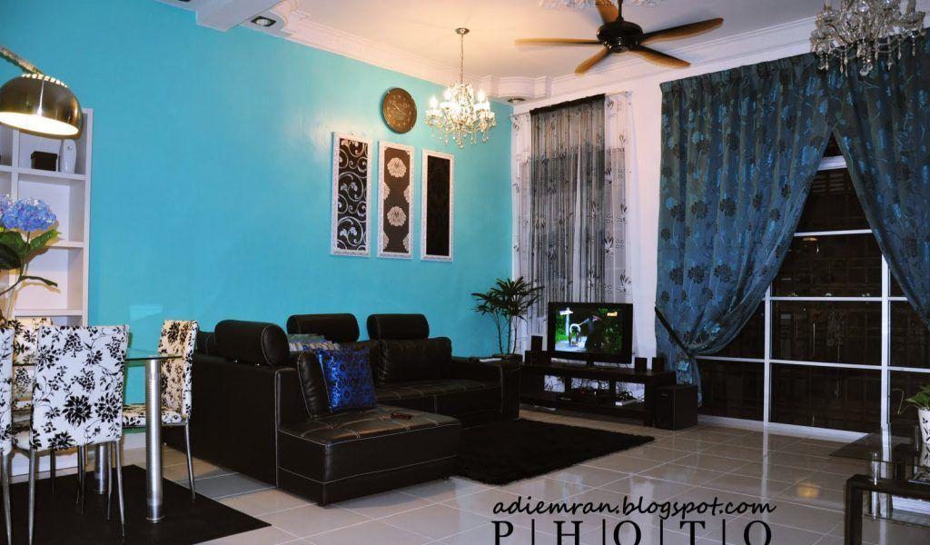 Dekorasi Hiasan Dalaman Terbaik Rumah Teres Kos Rendah Penting Ruang Tamu Rumah Kampung
