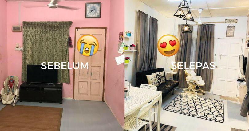 Susun atur Menarik Bilik Tidur Rumah Kampung Power Renovate Rumah Dengan Modal Rm2 000 Dalam Masa 24 Jam Power
