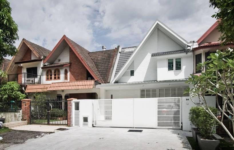 Susun atur Menarik Cat Luar Rumah Baik Konsep Klasik Dan Moden Hiasan Dalaman Rumah Teres 2 Tingkat