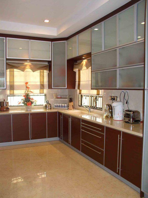 Contoh Kabinet Dapur Rumah Teres Desainrumahid Com