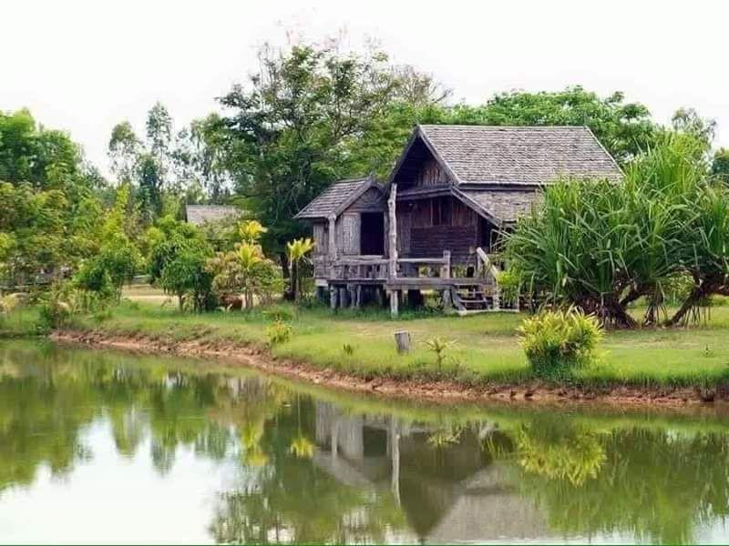 Susun atur Menarik Laman Rumah Kampung Menarik Binaan Bangunan