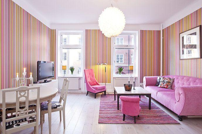 Susun atur Menarik Ruang Tamu Rumah Flat Berguna Tips Deko ] 17 Idea Dekorasi Ruang Tamu Dengan Warna Tema Pink
