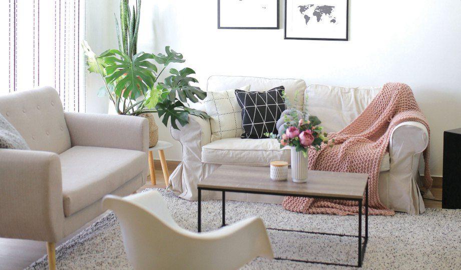 Susun atur Menarik Ruang Tamu Rumah Kos Rendah Berguna Konsep Minimalis Kurangkan Kos Dekorasi