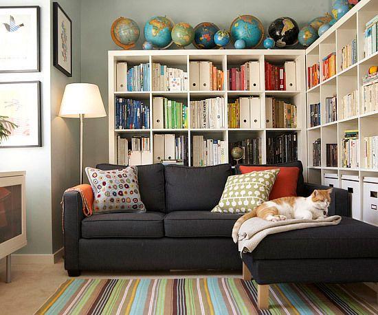 9 Cara Kreatif Menyimpan Buku di Rumah