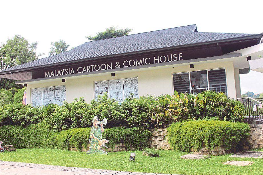 Susun atur Menarik Rumah Kampung Terbaik Sejenak Di Rumah Kartun