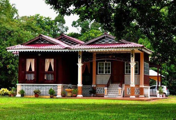 Susun atur Menarik Rumah Kampung Terbaik Seni Bina Rumah Melayu Tradisional