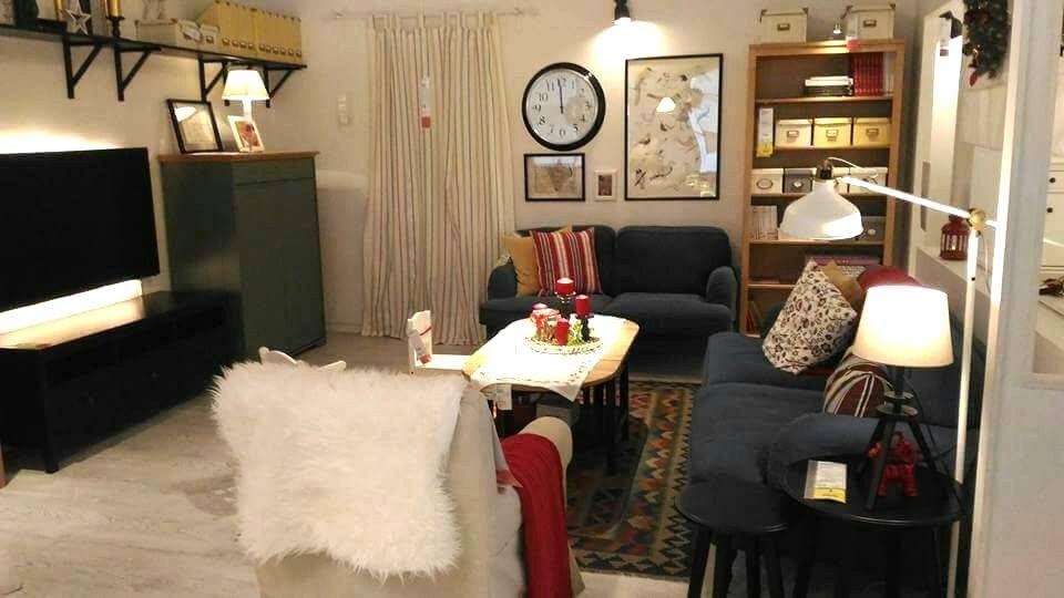 Deko Ruang Tamu Kecil Rumah Teres Menarik Hiasan Dalaman Ruang Tamu Pemilihan Warna Dan Susun atur