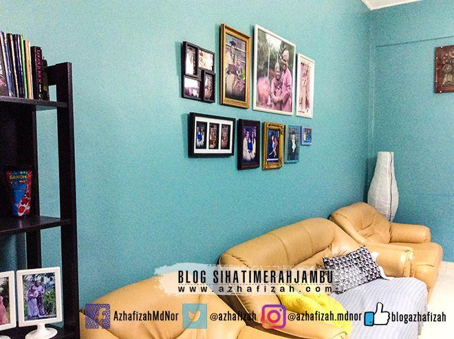 Susun atur Menarik Rumah Sebelum Dan Selepas Meletup Dekorasi Bingkai Gambar Di Dinding
