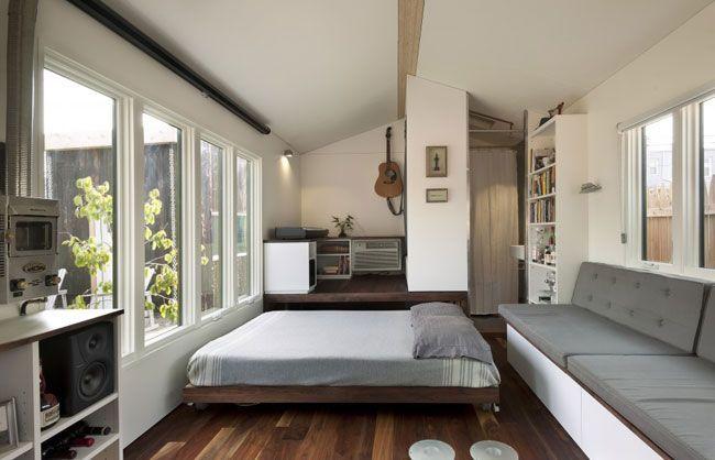Hiasan Dalaman Rumah Flat Kecil Baik Susun atur Pangsapuri 2 Bilik Kecil Ruang Tamu Dalam Dua