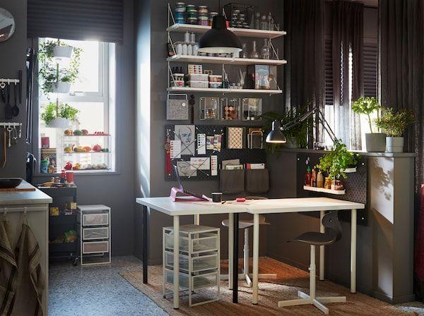 Susun atur Ruang Tamu Ikea Bermanfaat Ruang Kerja
