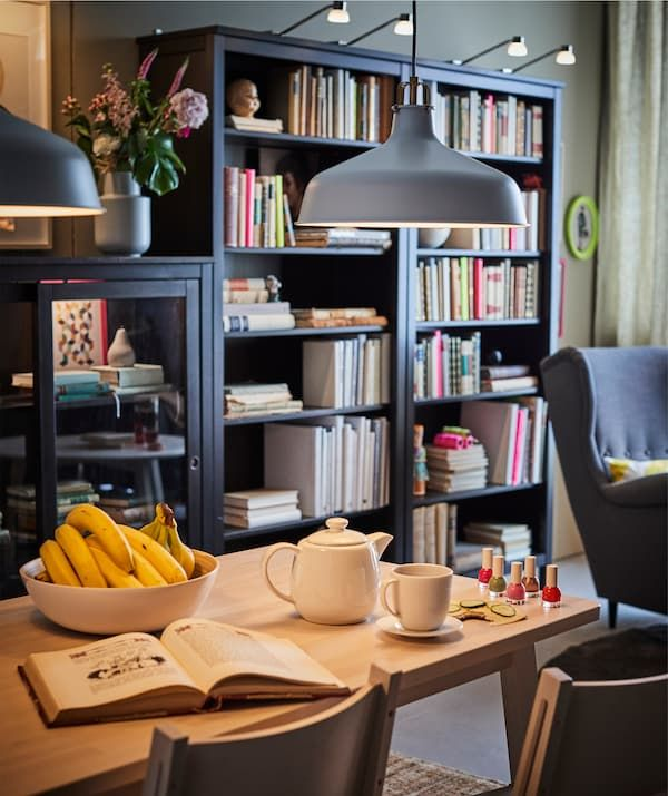 Lampu pendan ruang makan yang boleh dimalapkan