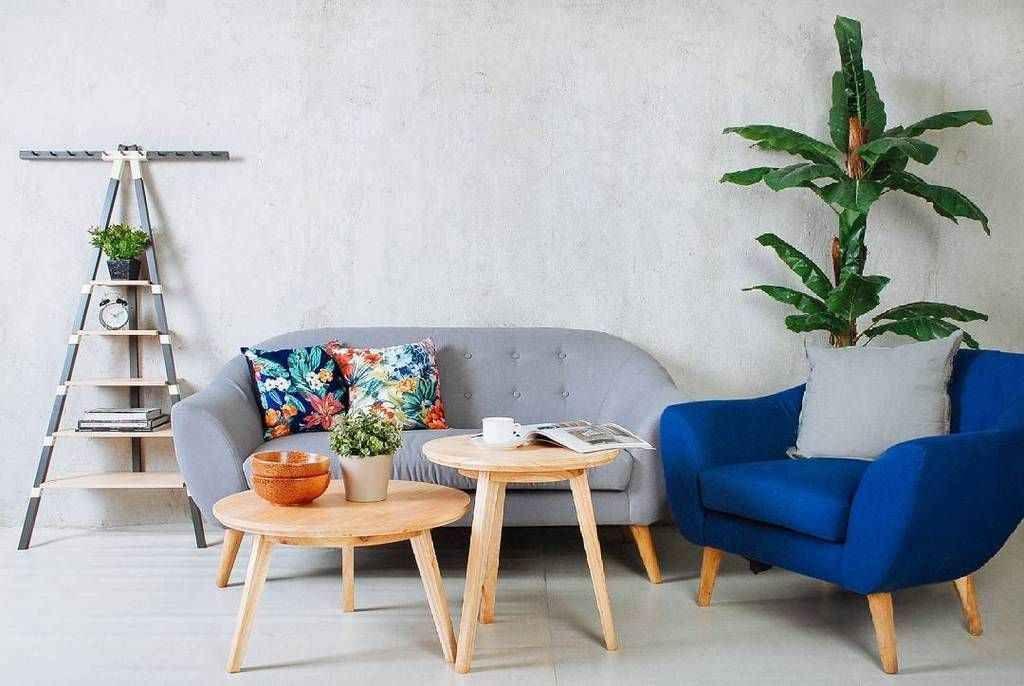 Dekorasi Ruang Tamu Kecil Dengan Kursi Kayu 20 Contoh Ide Kreatif
