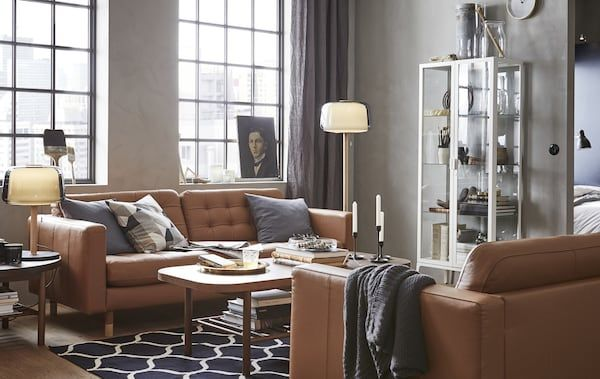 Susun atur Ruang Tamu Rumah Flat Bernilai Idea Ikea