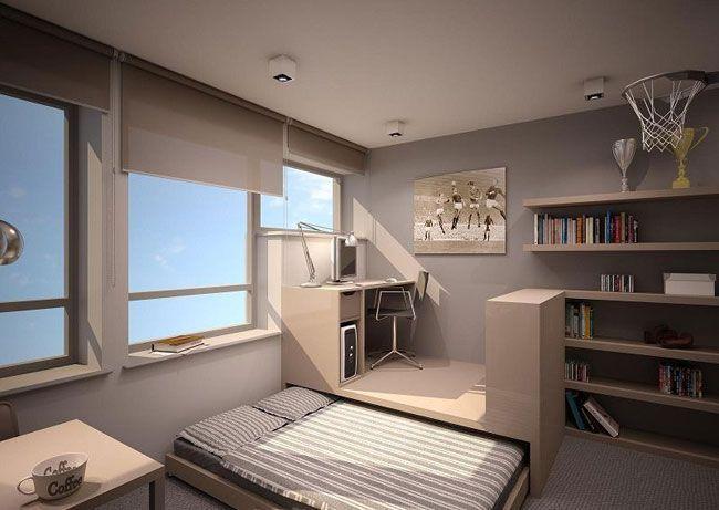 Susun atur Rumah Flat Meletup Jom Tengok Pelbagai Contoh Untuk Hiasan Dalaman Rumah Sempit Deko