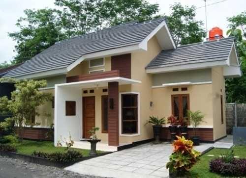 7600 Gambar Rumah Minimalis Sederhana Warna Hijau Terbaik