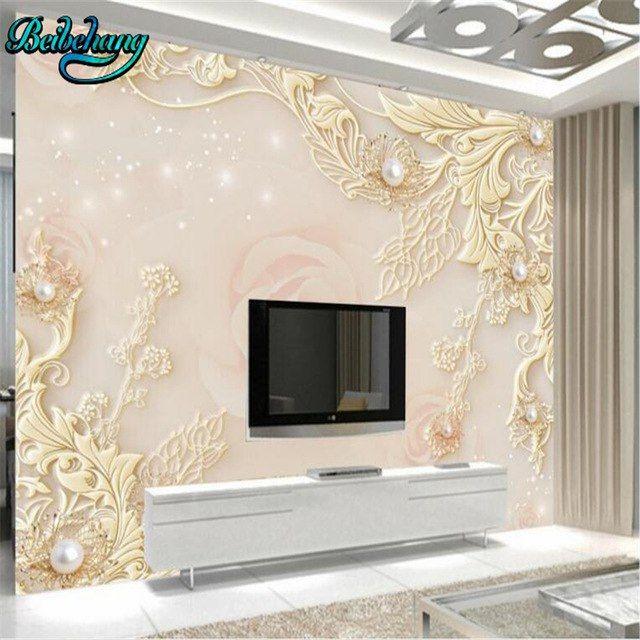 wallpaper untuk ruang tamu kecil