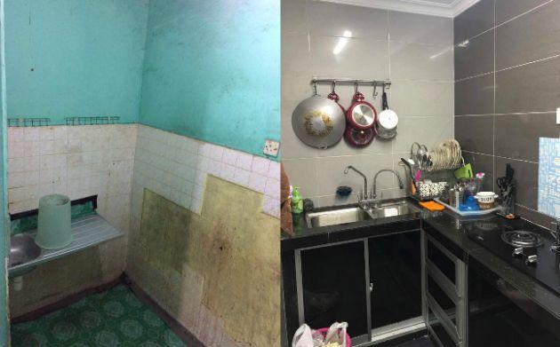 Cara Untuk Deko Dapur Rumah Teres Setingkat Menarik Foto] Lihat Bagaimana Wanita Ini Ubahsuai Rumah Flat Pkns
