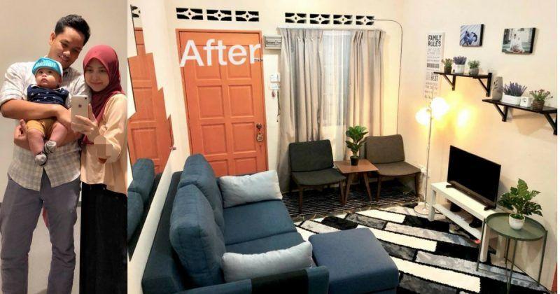 Cara Untuk Deko Dapur Rumah Teres Setingkat Terhebat Pasangan Ini Hias Rumah Sewa 650sq Ft Dengan Perabot Basic Namun
