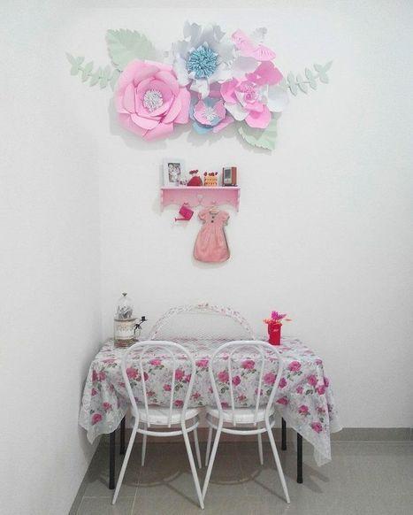 Cara Untuk Deko Dinding Rumah Meletup Ide Dan Cara Membuat Hiasan Dinding Berbentuk B