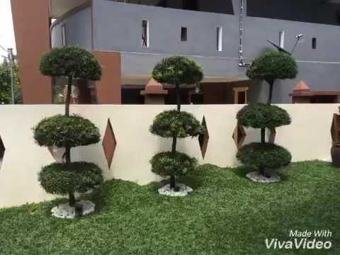 deko halaman rumah simple - pagar rumah