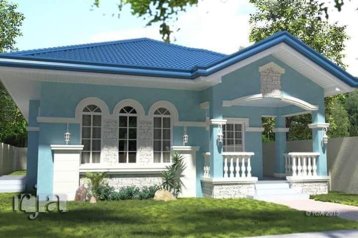 Cara Untuk Deko Halaman Rumah Teres Bermanfaat Simple Elegant House Philippines Hiqra Di 2019