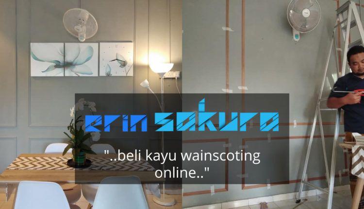 DIY Wainscoting Deko Rumah Ala Mewah Dengan Bajet Tak Sampai RM200