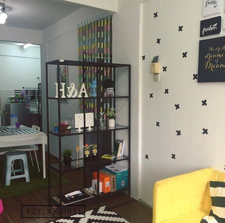 Cara Untuk Deko Rumah Biru Berguna Dekorasi Menarik Gaya Ikea Di Rumah Flat Dengan Bajet Minima