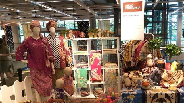 IKEA Indonesia menghadirkan kembali Teras Indonesia pameran produk kerajinan unggulan UKM Dok Istimewa