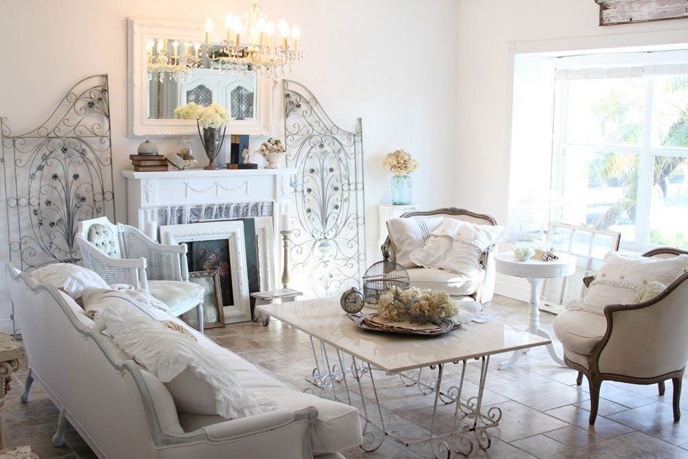 shabby chic interior design style tips and inspiration 3