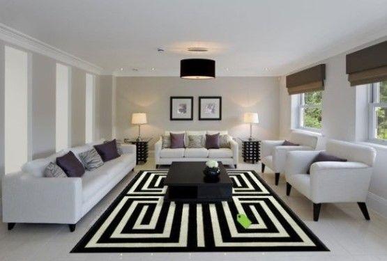Untuk membuat ruang tamu terlihat lebih cantik dan juga terlihat lebih luas maka disarankan untuk menghindari warna –warna yang gelap untuk bagian ruang