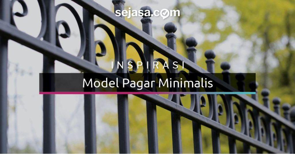 Cara Untuk Deko Rumah Teres 2 Tingkat Kos Rendah Meletup 35 Model Pagar Rumah Minimalis Sederhana Dan Elegan Sejasa
