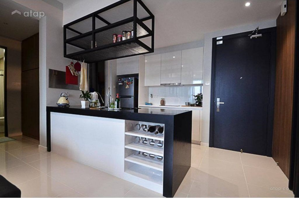 Cara Untuk Deko Rumah Teres Kos Sederhana Meletup Design Kaunter Dapur