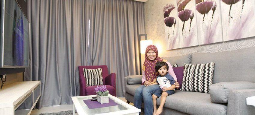 Cara Untuk Deko Siling Rumah Hebat Tips Deko Rumah Apartment Flat Untuk Raya