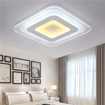 Cara Untuk Deko Rumah English Style Meletup 52w 64w 3 Warna Dimmable Modern Ultrathin Led Ceiling